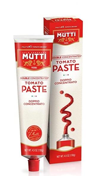 Tomato Paste Double Concentrated Mutti (4.5oz)