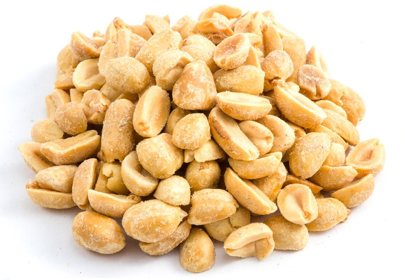 Peanuts Roasted & Unsalted (1lb)