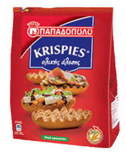 Krispies Wholegrain Toasted Rolls Papadopoulos (7.05oz)