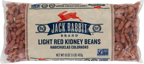 Light Red Kidney Beans & Legumes Jack Rabbit (1lb)
