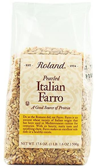 Pearled Italian Farro Roland (1lb)