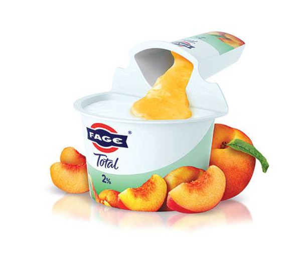 FAGE Total 2% Yogurt with Peach (150g)