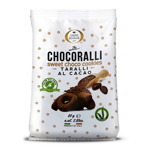 Chocoralli Sweet Choco Cookies Terre di Puglia (2.8oz)