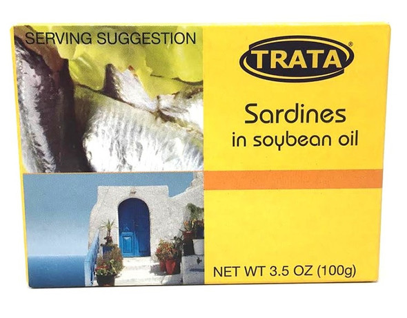 Sardines in Soybean Oil Trata (3.5oz)