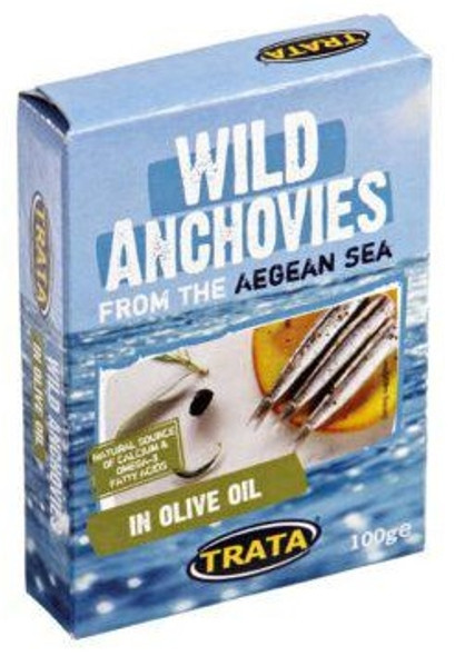 Wild Anchovies in Olive Oil Trata (100g)
