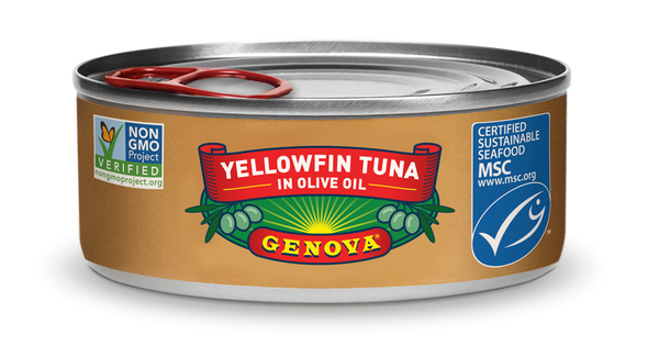 Yellowfin Tuna in Olive Oil Genova (3oz)