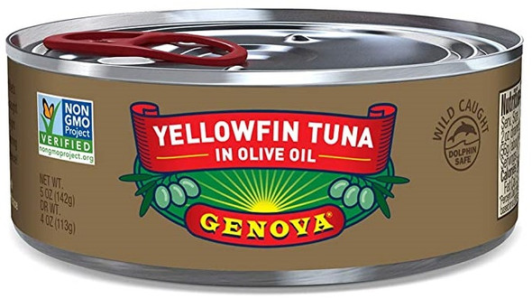 Yellowfin Tuna in Olive Oil Genova (5oz)