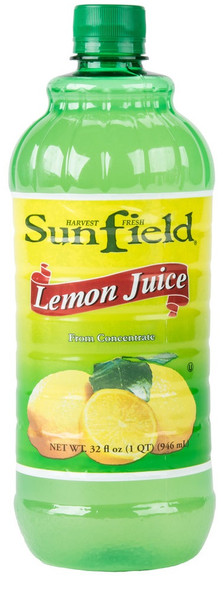 Lemon Juice Sunfield (32oz)