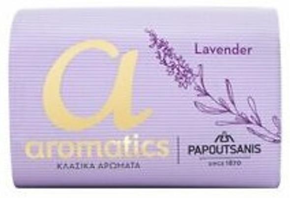 Lavender Soap Papoutsanis (125g)