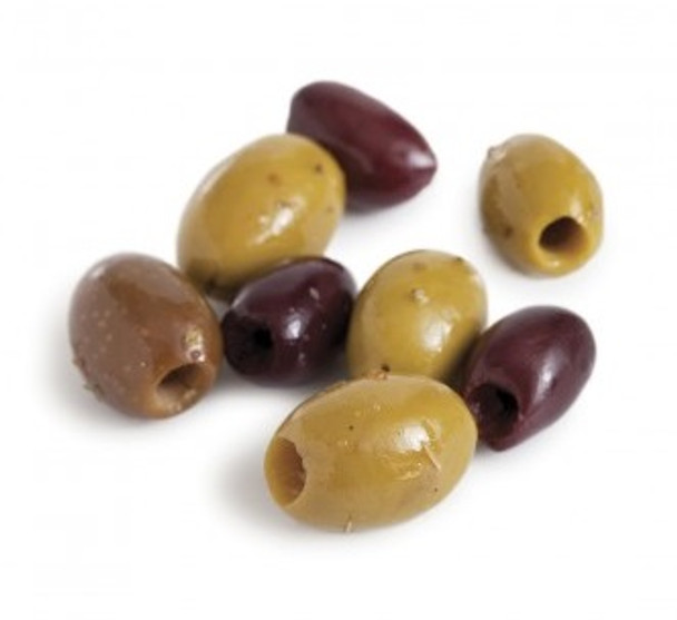 Mixed Spiced Pitted Olives