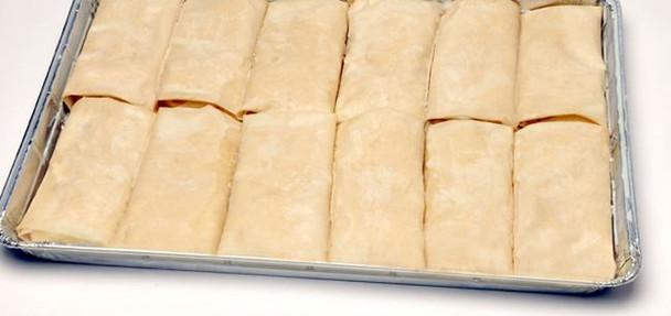 Spinach Pie/Spanakopita Tray 12pcs/6oz Kontos (72oz)