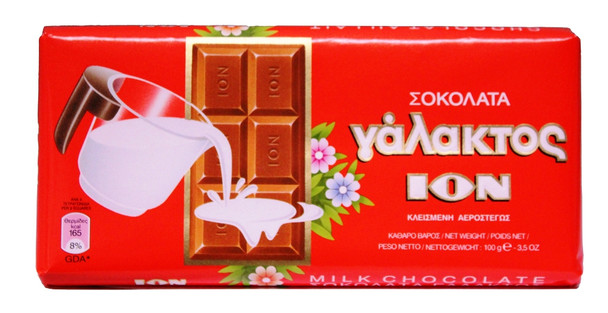 Milk Chocolate ION Box (10x100g)