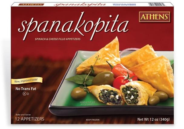 Spinach Pie/Spanakopita 12pcs/1oz Athens (12oz)