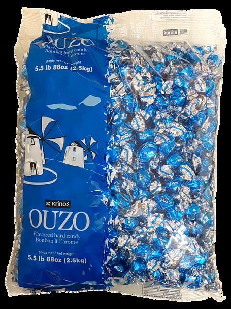 Ouzo Candy Krinos (5.5lb)