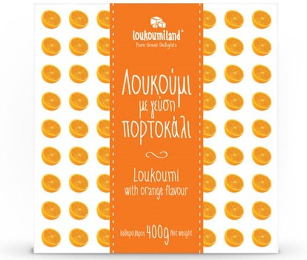 Loukoumi with Orange Loukoumiland (14oz)