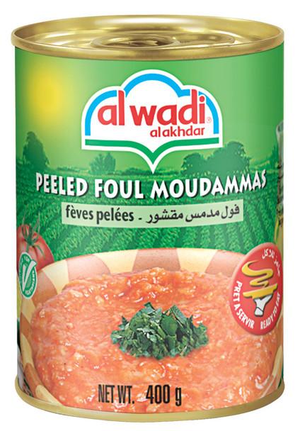 Peeled Foul Moudammas Alwadi (14oz)