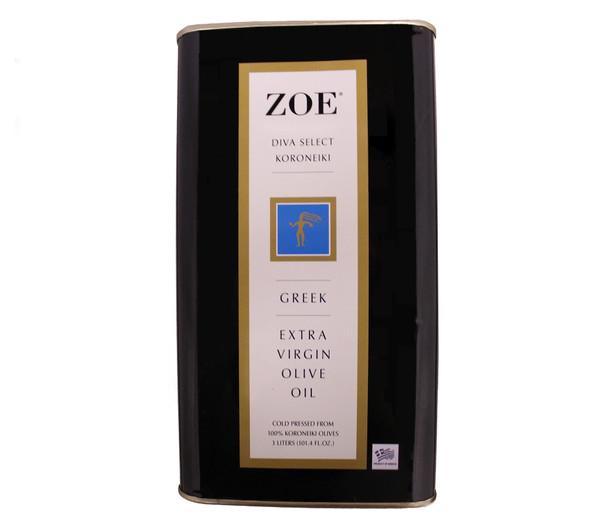 ZOE Diva Select Koroneiki Extra Virgin Olive Oil (3L)