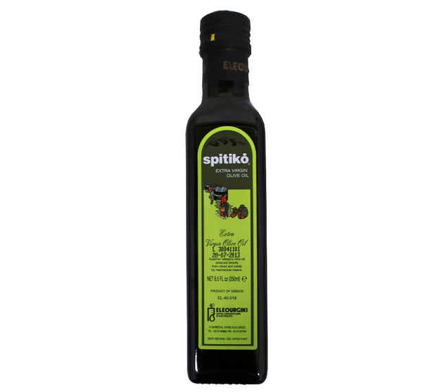 Spitiko Extra Virgin Olive Oil (250ml)
