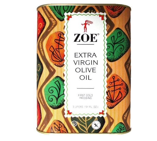 Zoe Extra Virgin Olive Oil (3L)