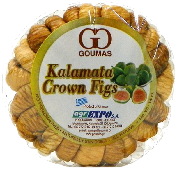 Figs Greek Kalamata Goumas (14oz)