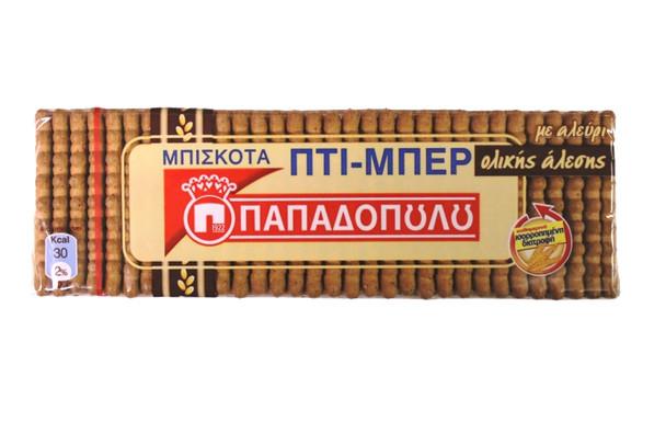 Petit-Beurre Whole Grain Papadopoulos (225g)