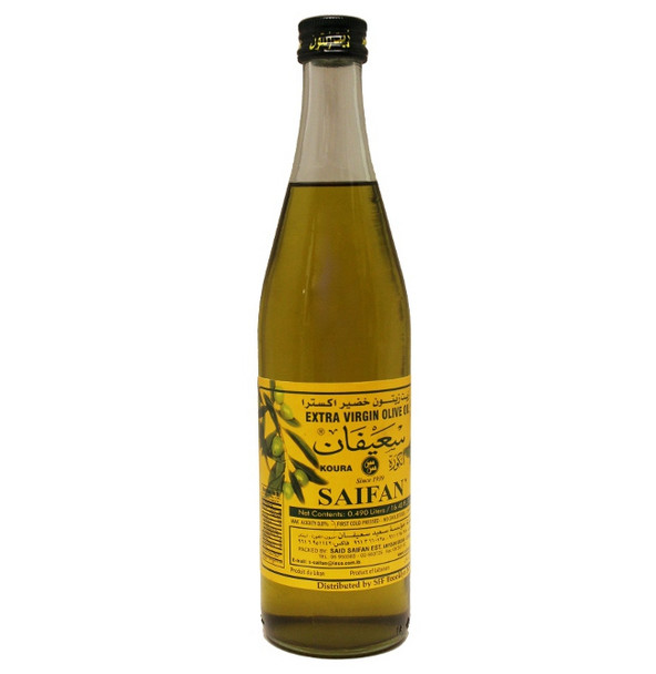 Saifan Unfiltered Extra Virgin Olive Oil (0.49L)
