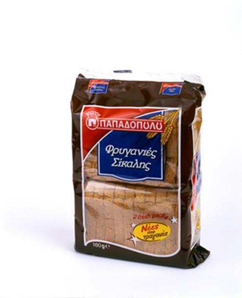 Whole Grain Toast Papadopoulos (160g)