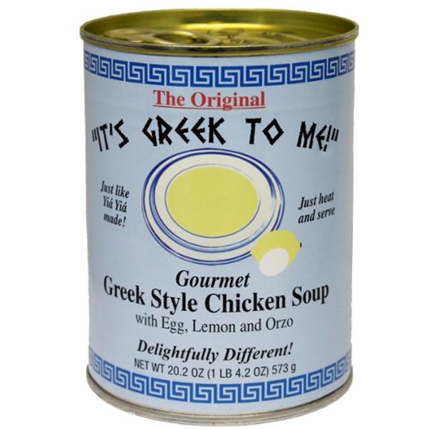 Avgolemono Chicken Soup It's Greek To Me (20.2oz)