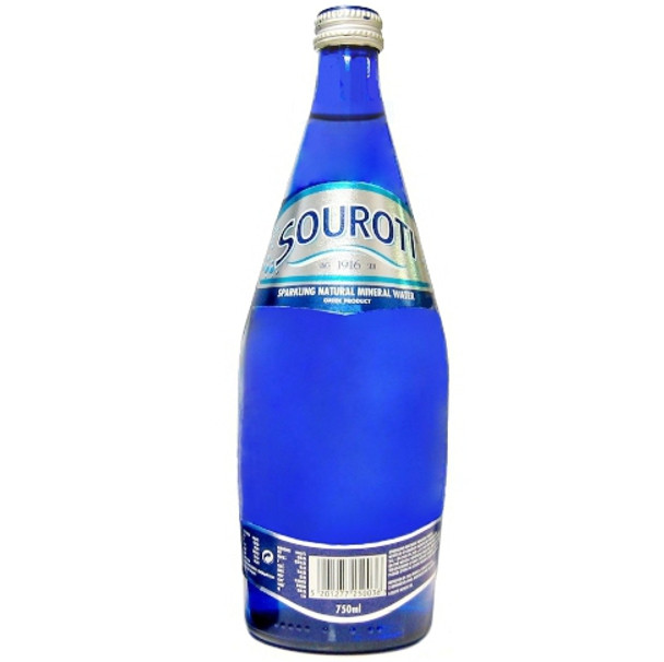 Souroti Sparkling Mineral Water (24.5oz)