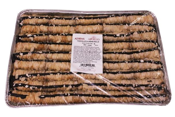 Chocolate Almond Rolls Athens 45pcs (5lb)