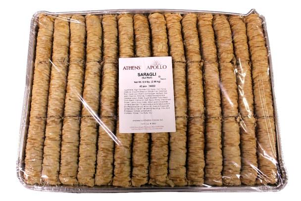 Saragli Nut Rolls Athens 42pcs (6.5lb)