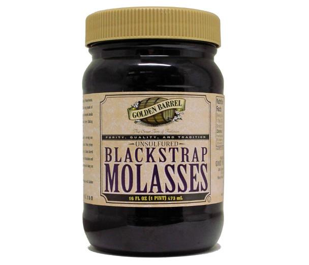 Blackstrap Molasses Golden Barrel (16oz)