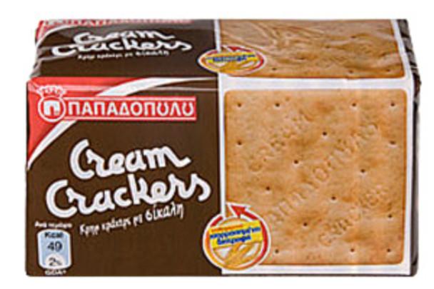 Cream Crackers Rye Papadopoulos (175g)