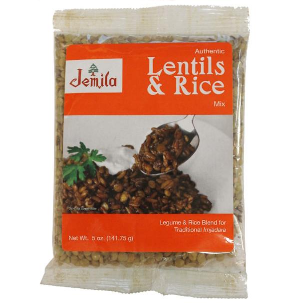 Lentils & Rice Mix Jemila (5oz)