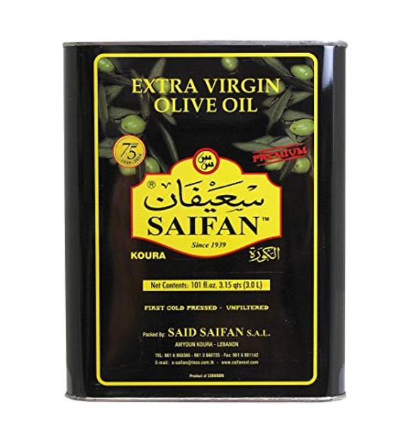Saifan Unfiltered Extra Virgin Olive Oil (3L)