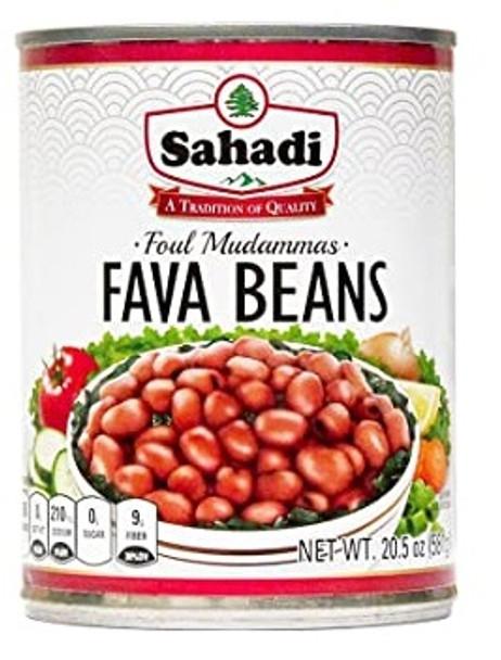 Fava Beans & Legumes (Foul Mudammas) Sahadi (20.5oz)