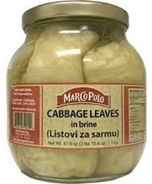 Cabbage Leaves in Brine Marco Polo (47.6oz)
