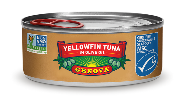 Yellowfin Tuna in Olive Oil Genova (3oz)