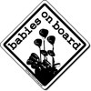 Babies on Board - B&W