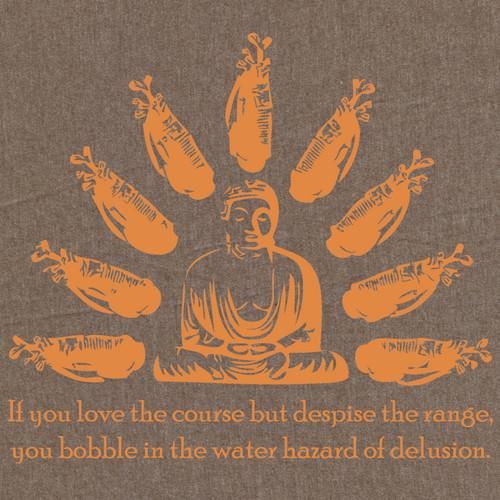 Buddha:  Water Hazard of Delusion