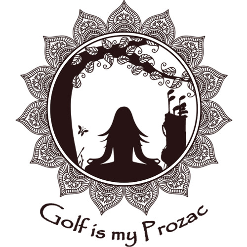 Golf is my Prozac - T-shirt