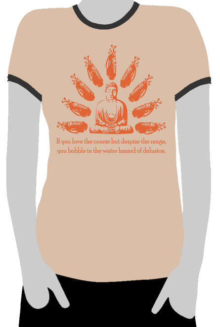 Buddha:  Water Hazard of Delusion  (Ladies)