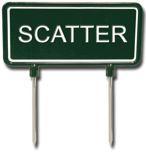 SCATTER Sign
