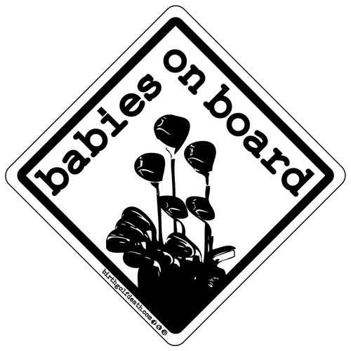 Babies on Board - Black & White