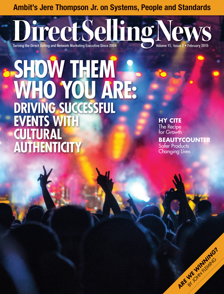 Direct Selling News - February 2015