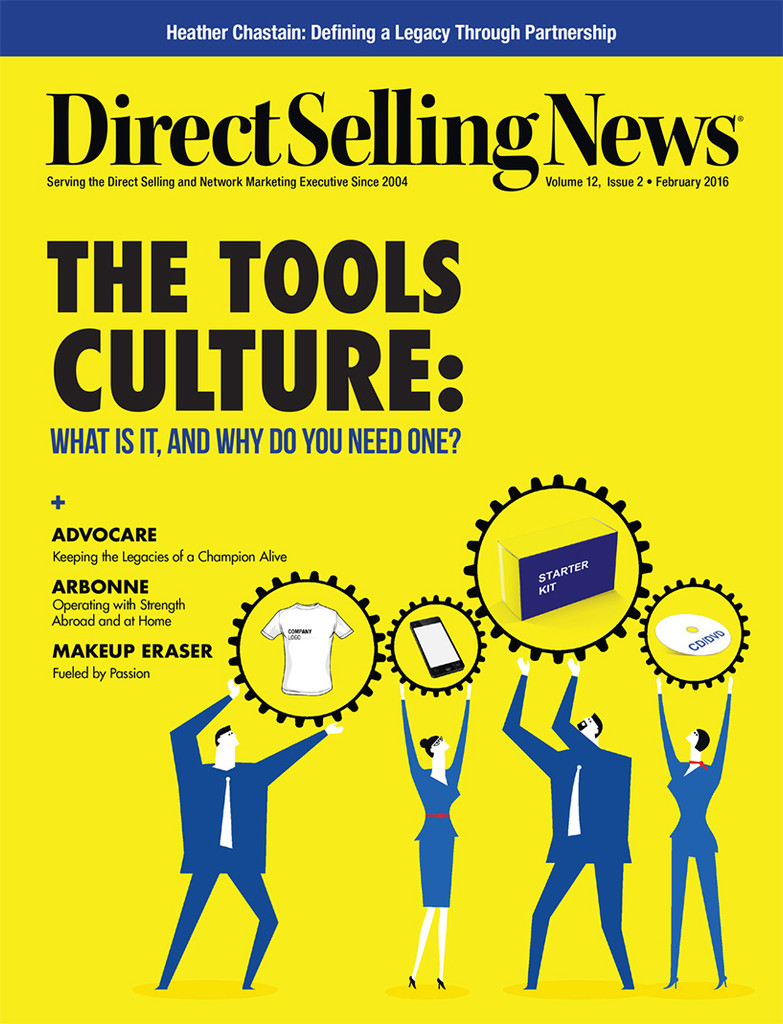 Direct Selling News - February 2016