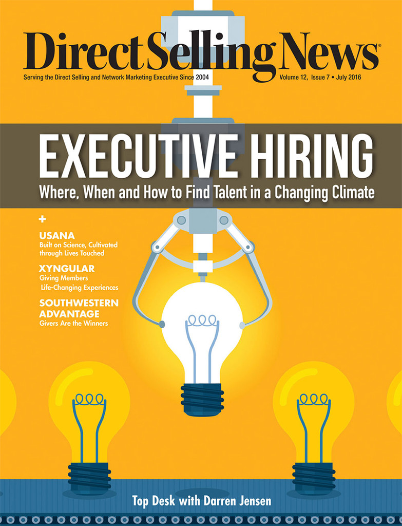 Direct Selling News - July 2016