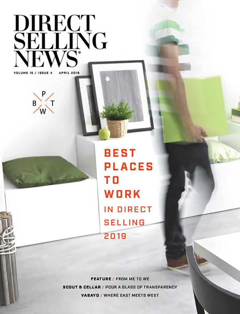 Direct Selling News - April 2019