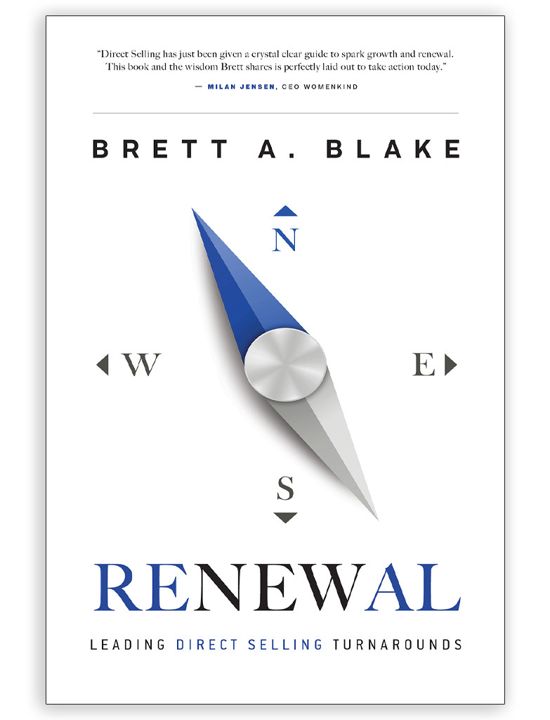 Renewal: Leading Direct Selling Turnarounds by Brett Blake