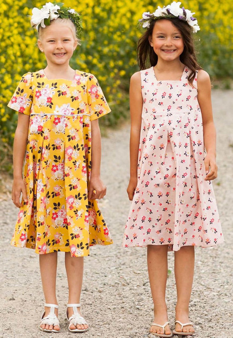 GIA PLEATED DRESS PDF Sewing Pattern & Tutorial